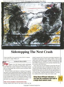 "Read the First Page of the Article ""Sidestepping the Next Crash"""