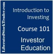 Course 101 - Introduction To Investing