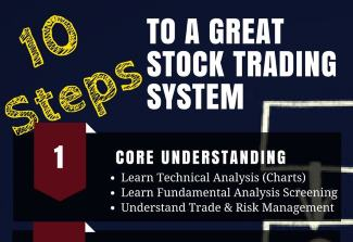 10 Key Steps To Build A Great Stock Market Trading System