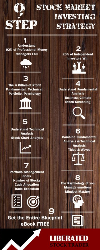 Stock Market Strategy 9 Steps Infographic
