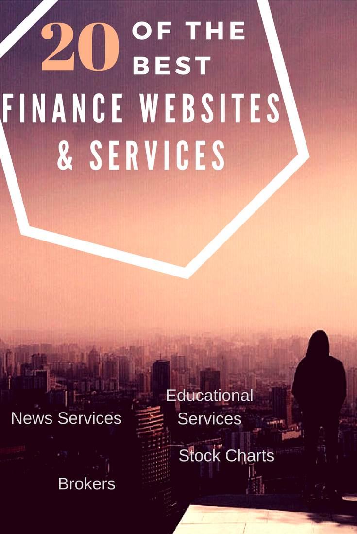 The Top 35 Best Financial & Stock Market Websites [2020]