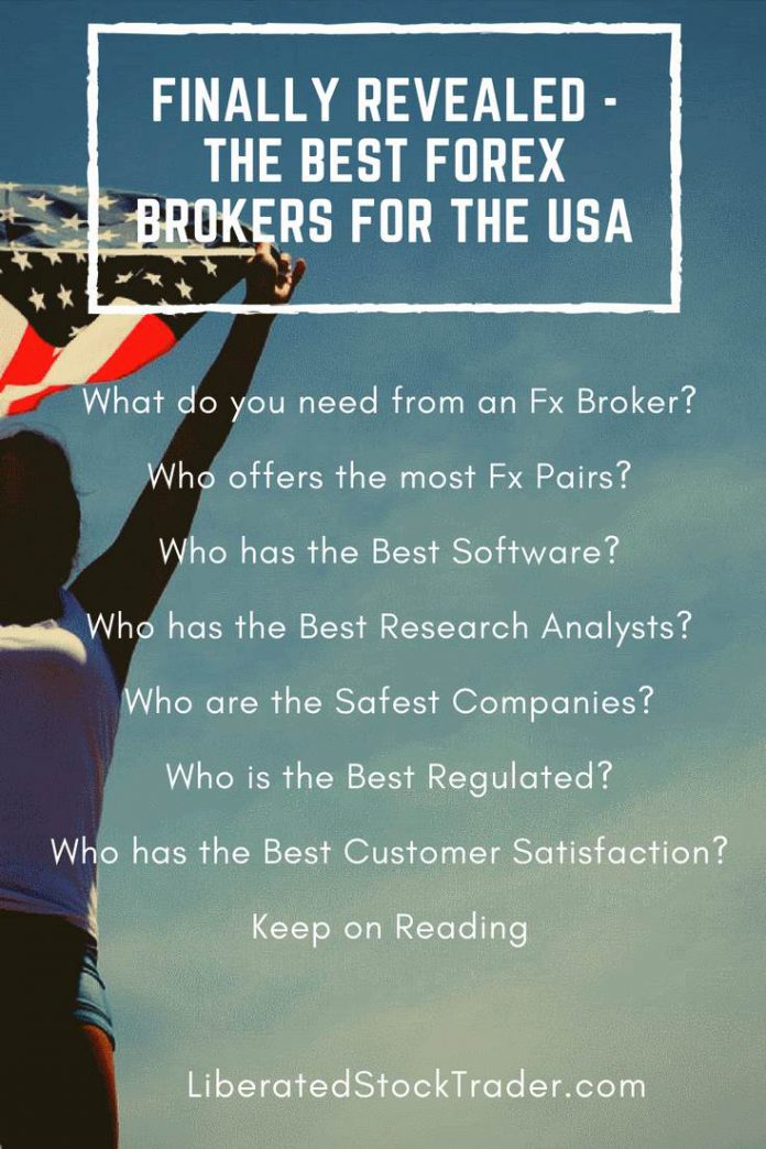 Best forex broker in us