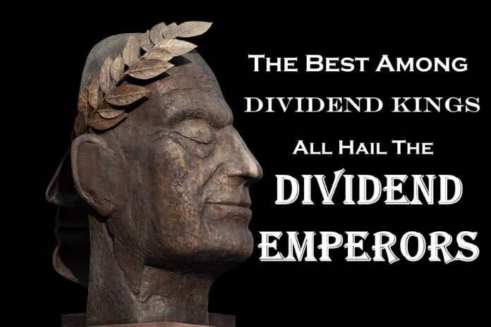 The King of Kings Welcome the Dividend Emperors