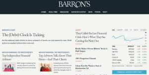 Barrons Magazine - Thought Provoking Journalism