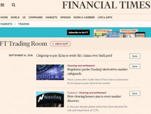 FT Trading Room - Dedicated News for Traders