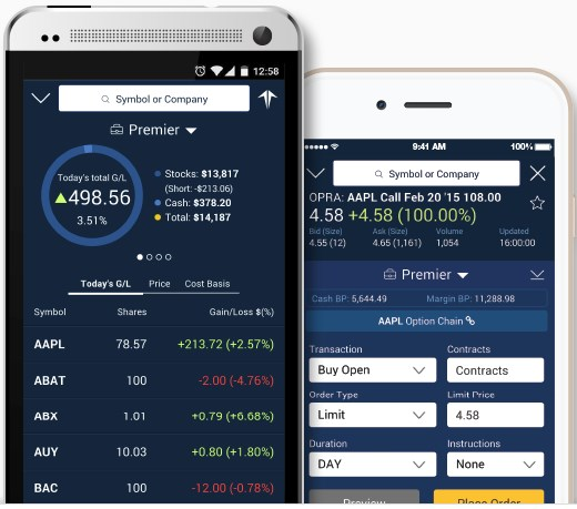 Firstrade Mobile App - Options Trading & Portfolio Management