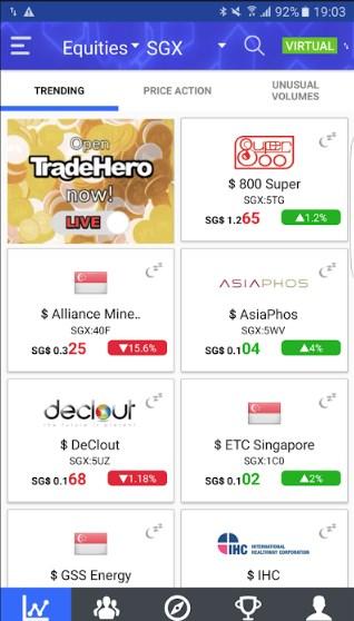 TraderHero - Mobile Stock Market App