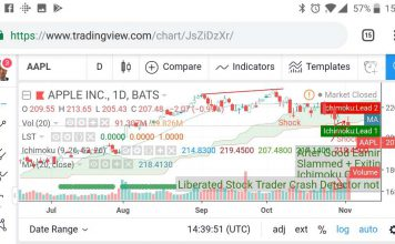 Incredibly Detailed TradingView Power Charting on my Smartphone