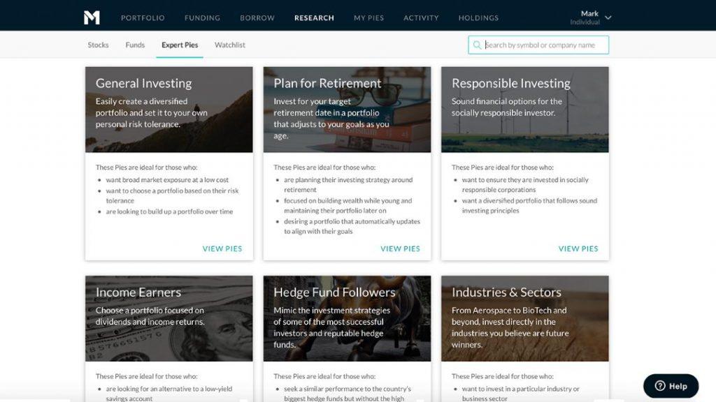M1 Finance Expert Portfolios