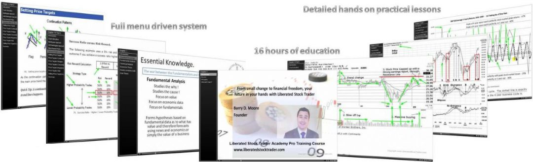 Liberated Stock Trader PRO - The Complete Stock Market Investing Education