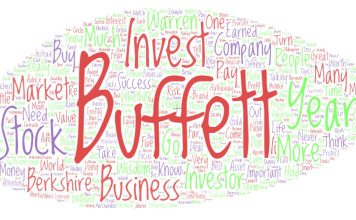 The Ulimate Collection of Warren Buffett Quotes - Word Cloud