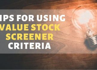 Value Stock Screener Criteria