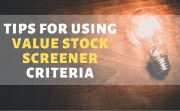 Value Stock Screener Criteria