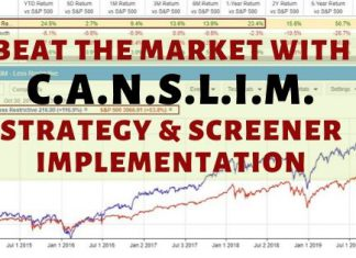CANSLIM - Stocks, Screening, Criteria & Strategy