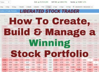 Ultimate Guide: How To Create, Build & Manage A Stock Portfolio