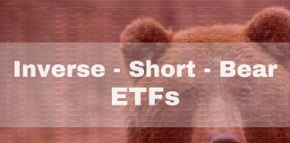The Best Short ETFs / Inverse ETFs List by Assets, Expenses & Volume