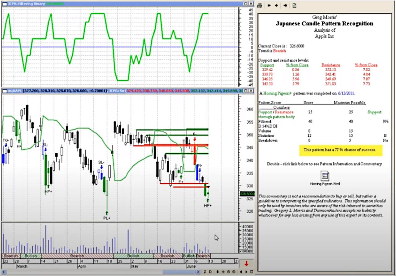 Candlestick Pattern Recognition & Analysis Add-On With MetaStock