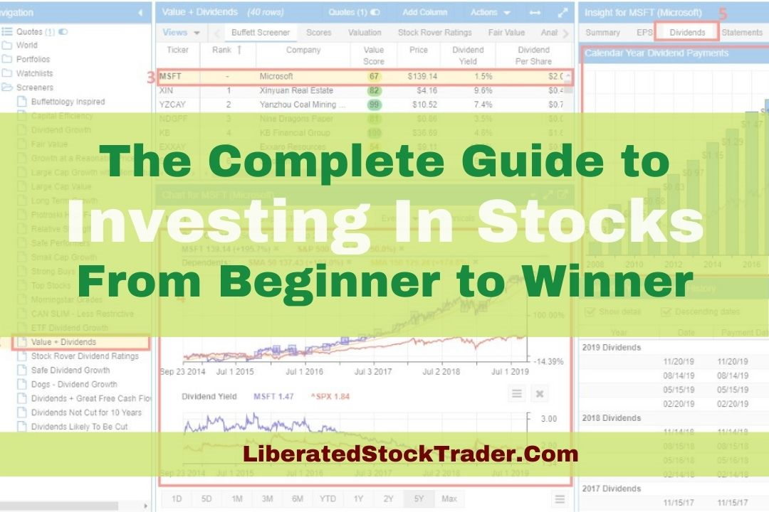 Investing In Stocks - The Ultimate Guide