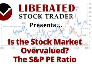 Is the Stock Market Overvalued? Understanding the Shiller S&P PE Ratio.